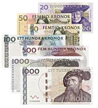 Švédské bankovky